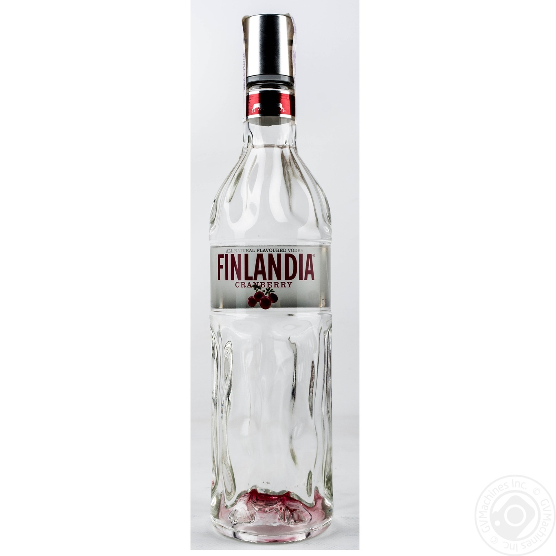 Купить Водка Финляндия Клюква белая 37.5% 0, 7л