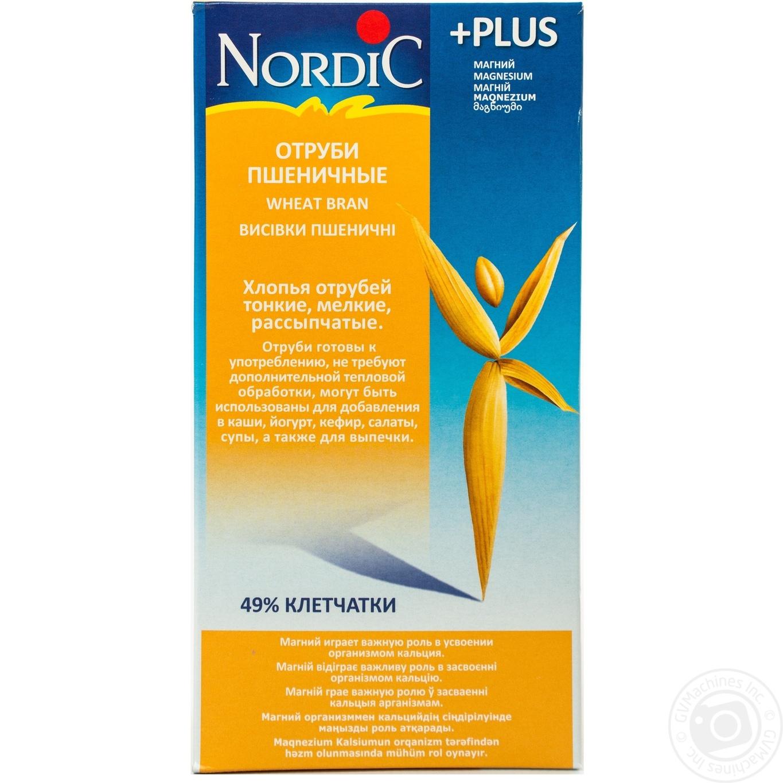 Купить Отруби Nordic пшеничные 160г