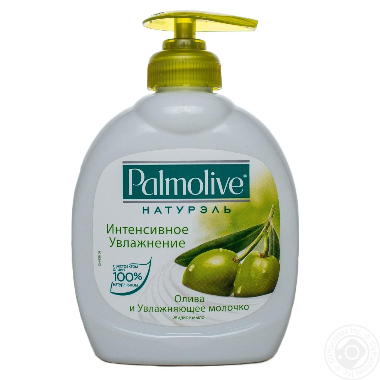 Купить Жидкое мыло Palmolive Натурэль Интенсивное увлажнение Олива и Увлажняющее молочко 300мл