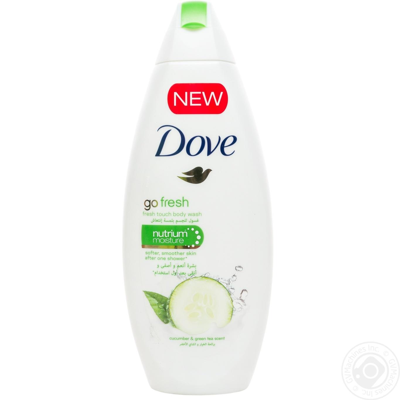 Купить Dove Крем-гель для душа Огурец и зеленый чай 250мл