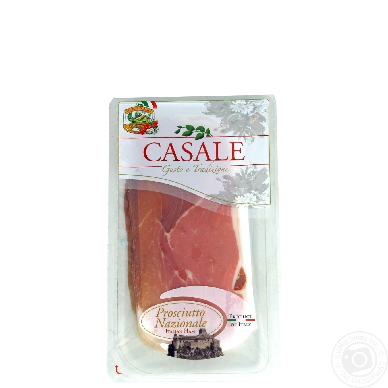 Купить Прошуто Casale італійське сиров'ялене нарізка слайсами 80г