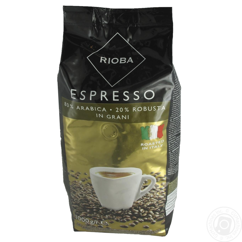 Купить Кофе Rioba Espresso в зернах 1кг
