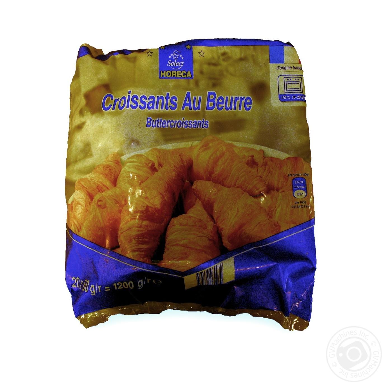 Купить Круасани Horeca select масляні 20х60г