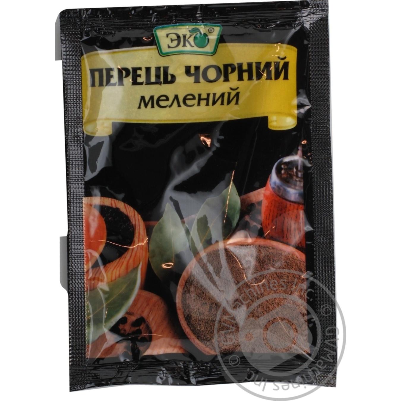Купить Перец Эко черный молотый 20г