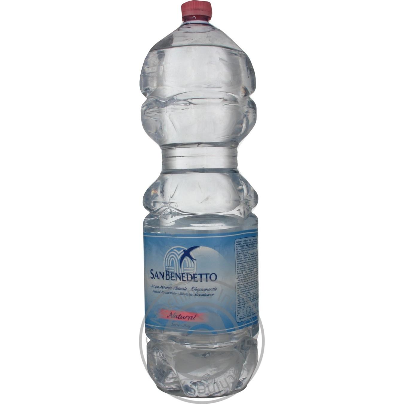 Купить Мінеральна вода, Вода Сан Бенедетто негазована 2л