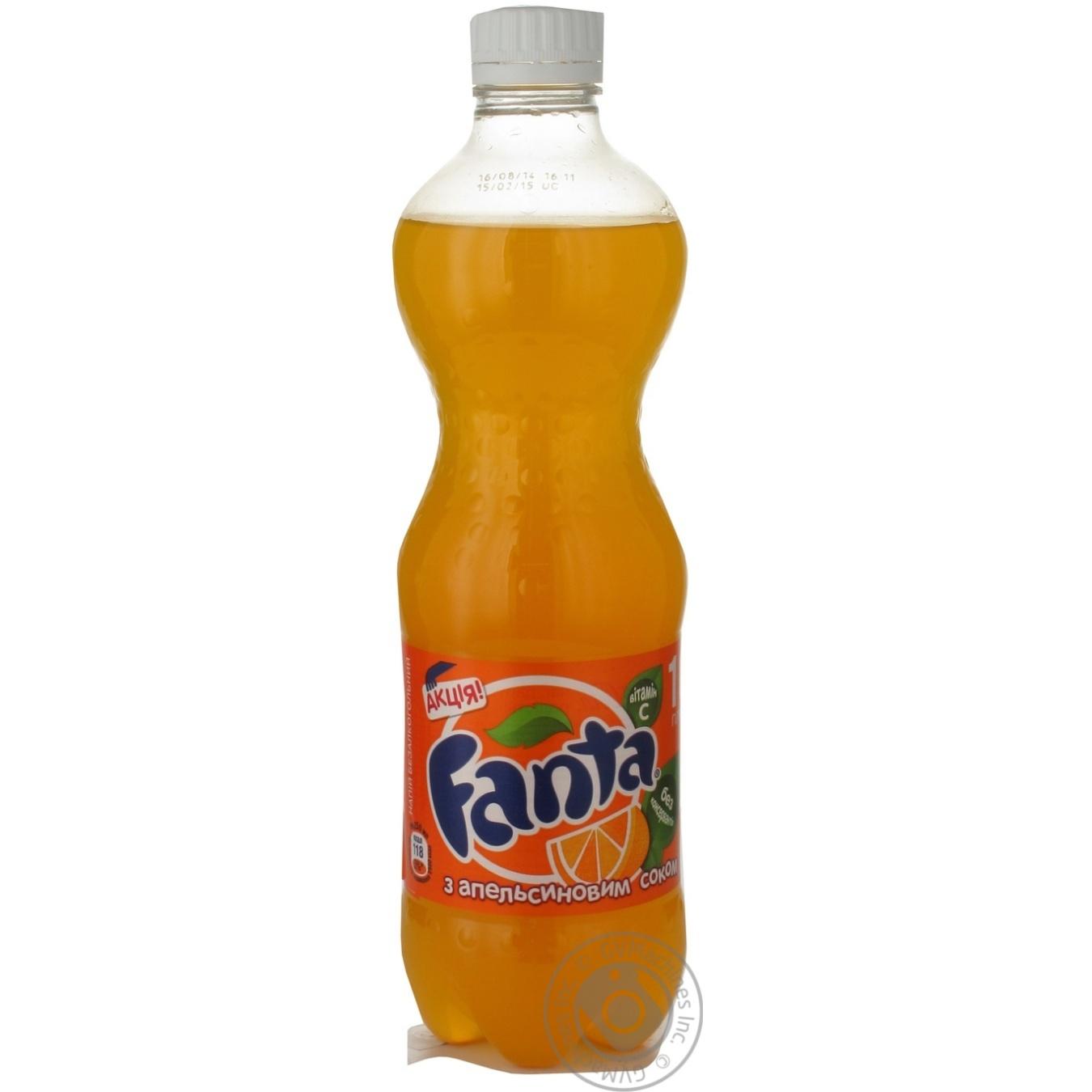 Купить Солодка вода, Напій Fanta газований апельсин 0, 5л