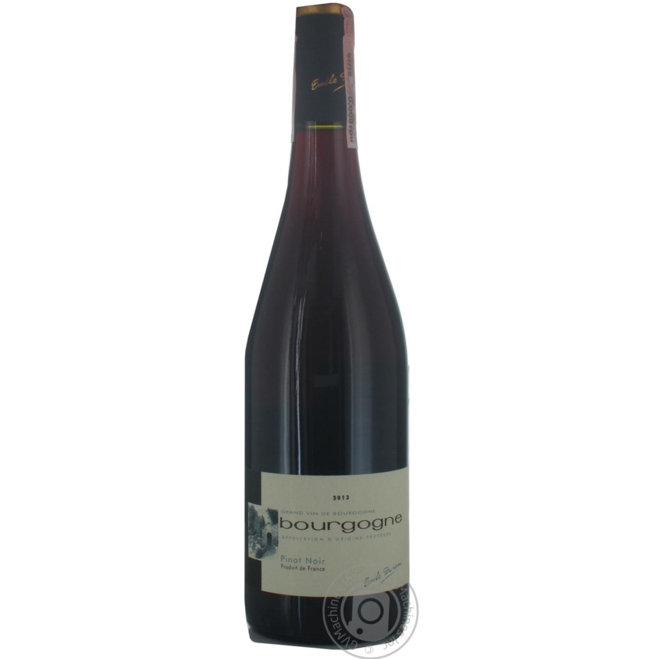 Купить Вино E.Durand Пино Нуар красное сухое 0, 75л