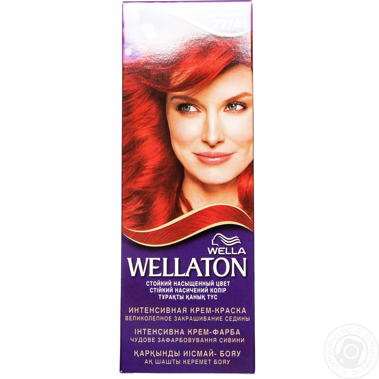 Купить Крем-краска для волос Wellaton Вулкан 77/44