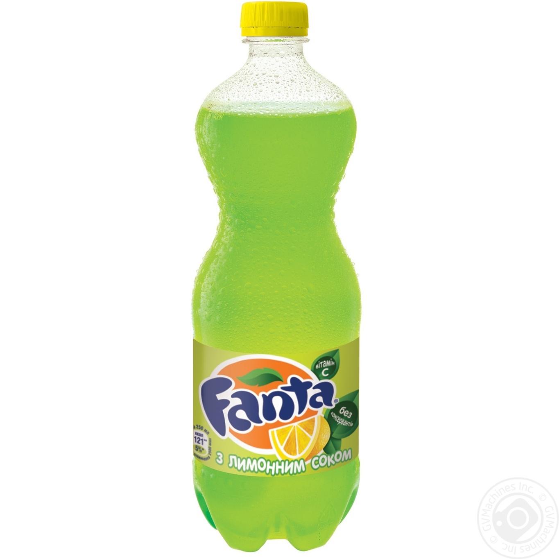 Купить Солодка вода, Напій Фанта Лимон 1000мл
