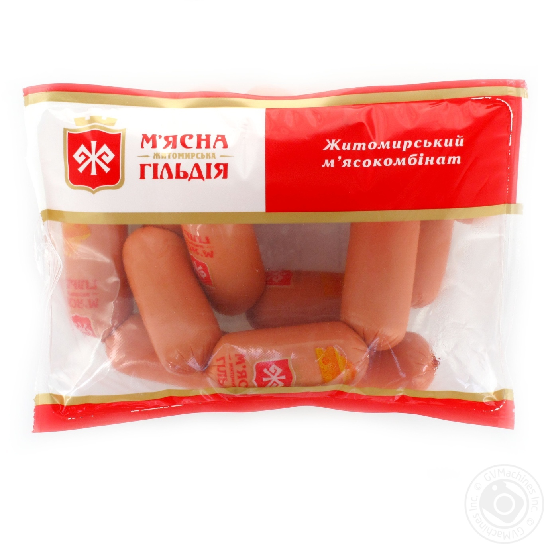 Купить Сосиски Мясная Гильдия Пятачки с сыром в/с