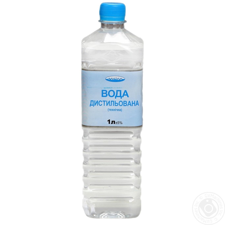 Купить Вода Регион дистиллированная техническая 1л