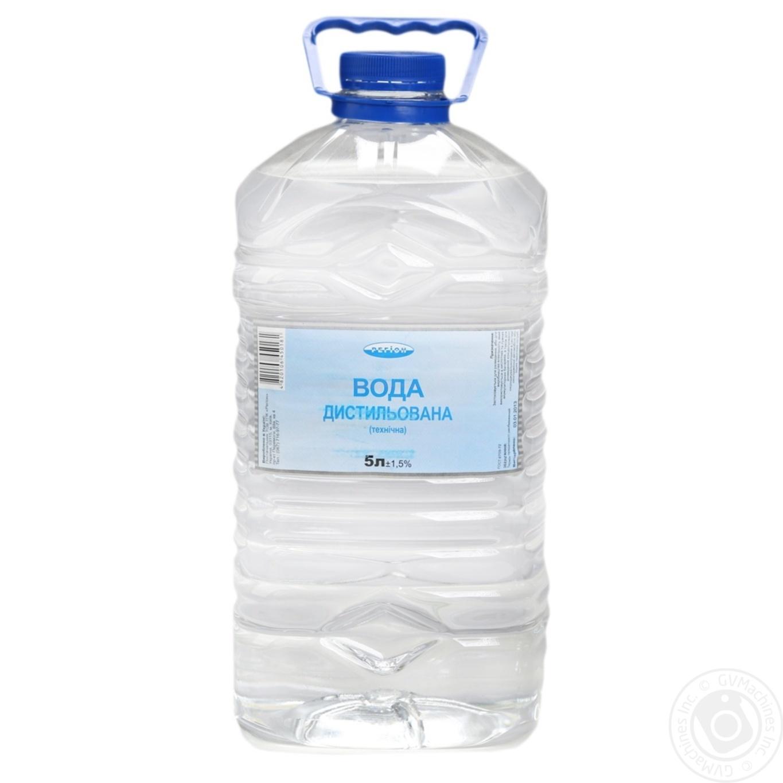 Купить Вода Регион дистиллированная техническая 5л