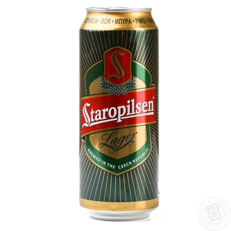 Купить Пиво Staropilsen світле 0, 5л ж/б