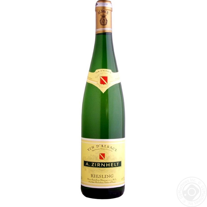 Купить Вино A.Zirnhelt Riesling белое полусладкое 0, 75л