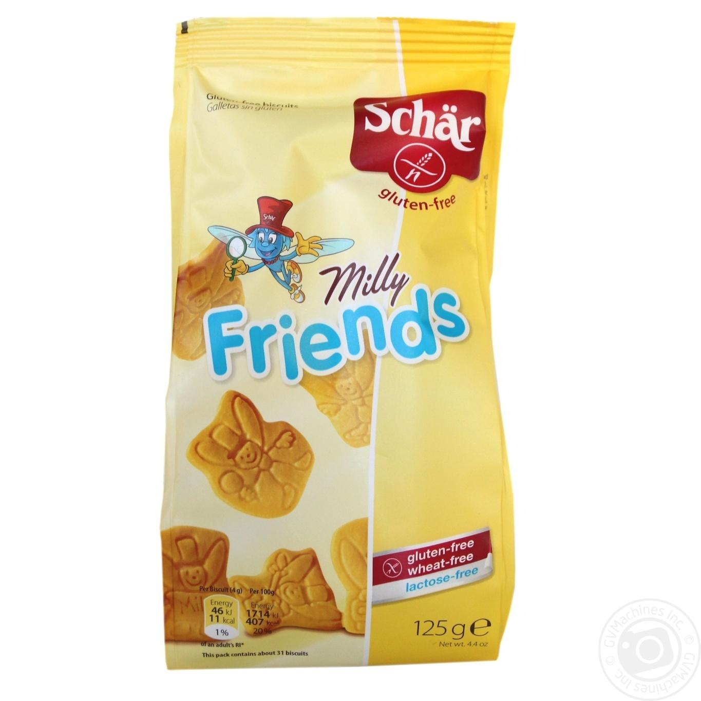 Печиво Dr.Schar Milly Friends 125г