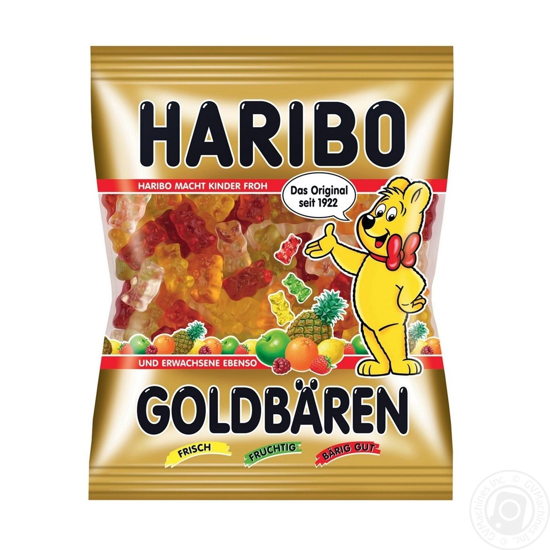 Купить Цукерки та батончики, Цукерки жувальні Haribo Goldbaren 200г