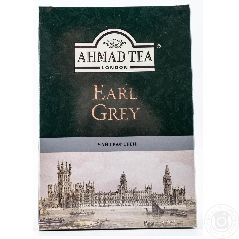 Купить Чай Ахмад Граф грей черный листовой 200г