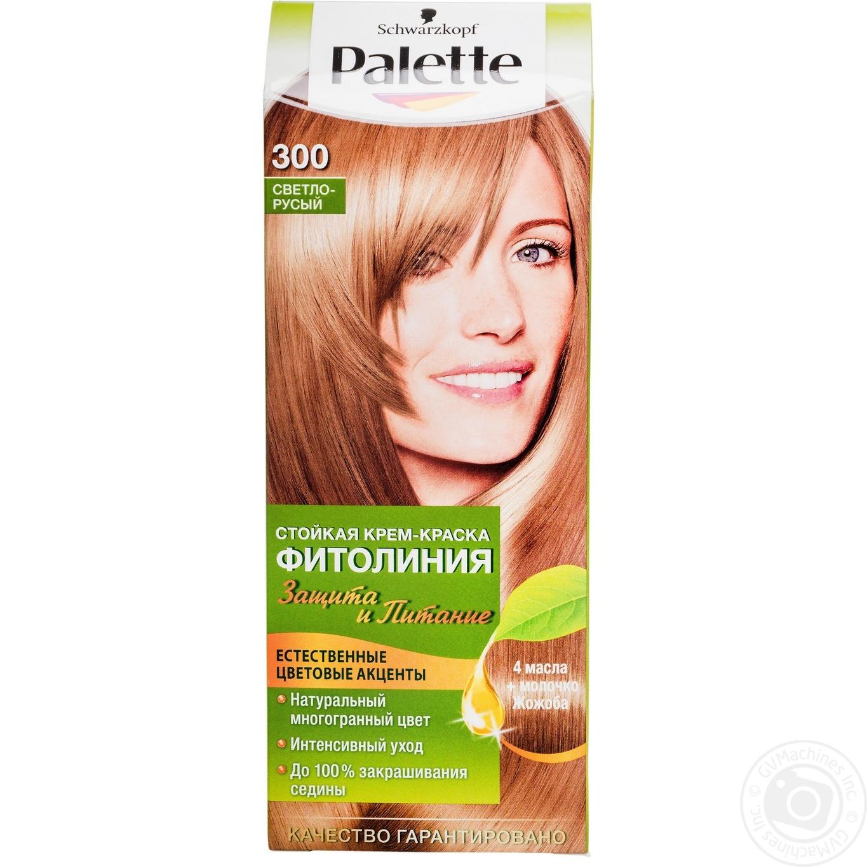 Палитра светло русый цвет волос