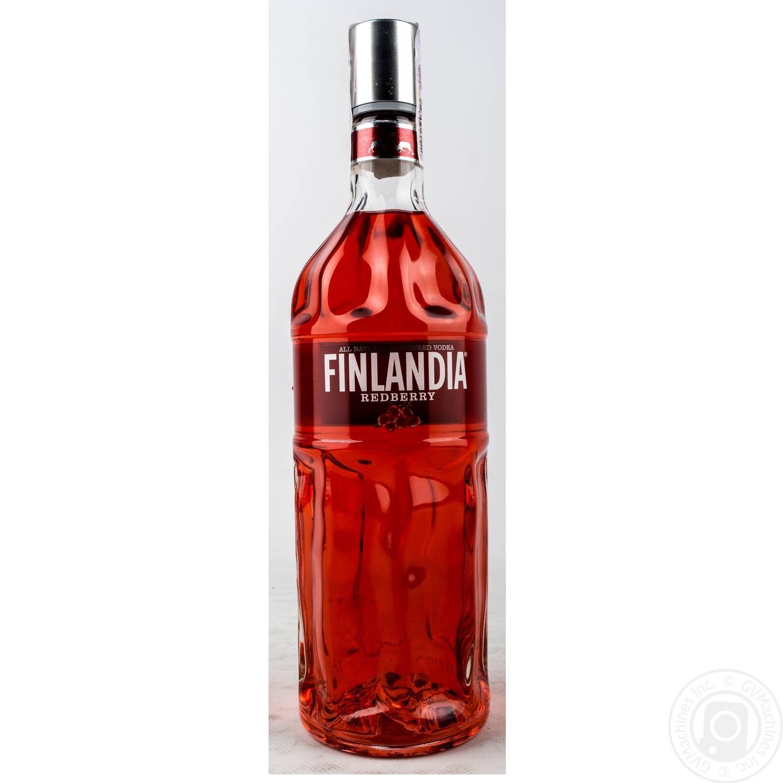 Купить Водка Finlandia Клюква красная 37.5% 1л