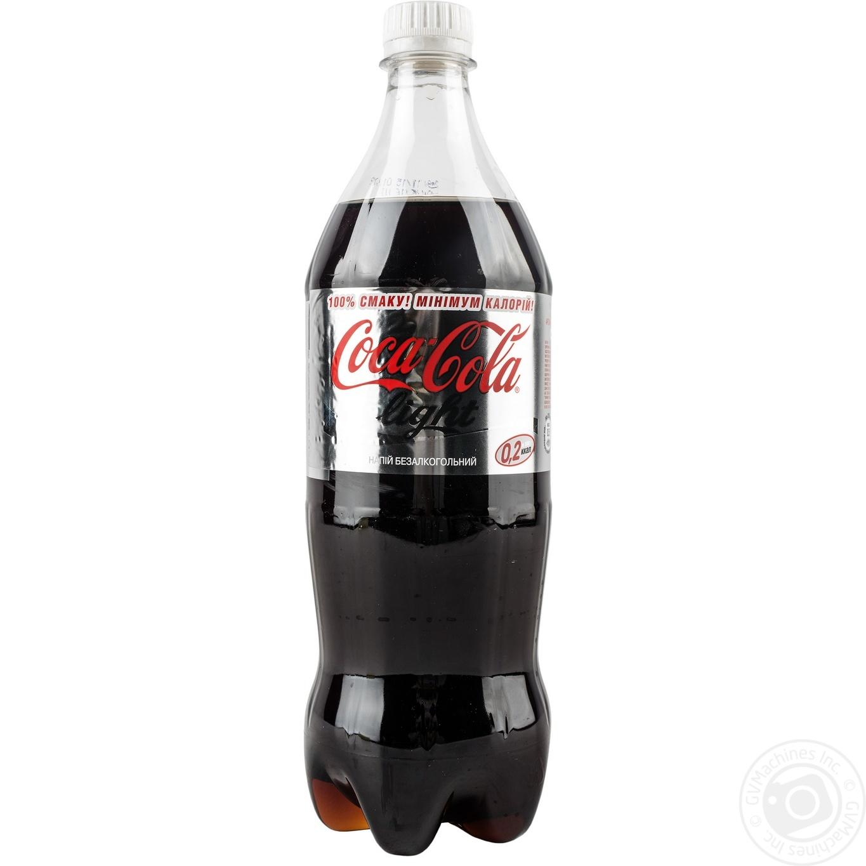 Купить Солодка вода, Напій Coca-cola Light сильногазований 1л