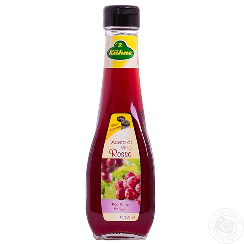 Купить Уксус Kühne из красного вина 250мл