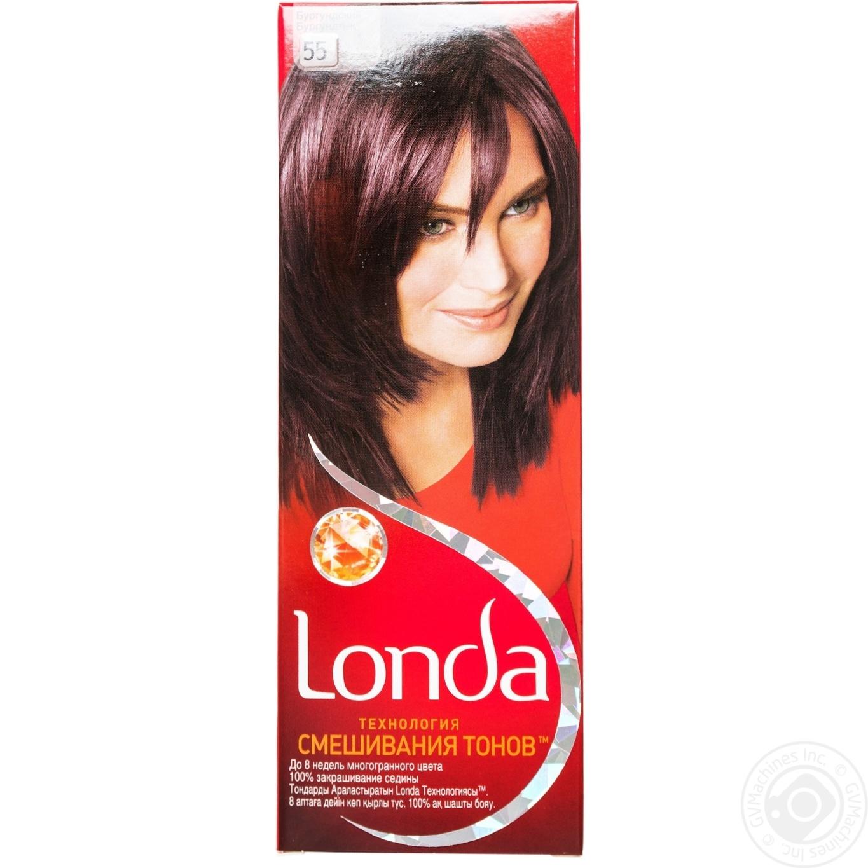 Краска для волос лонда крем