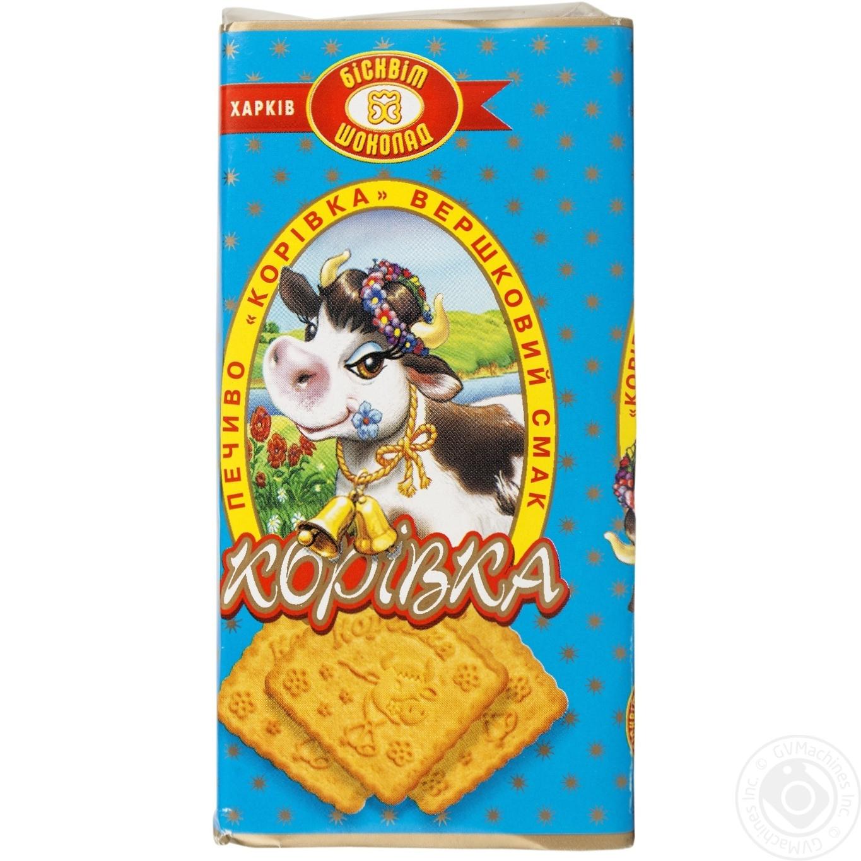 Печиво ХБФ корівка вершковий смак 180г
