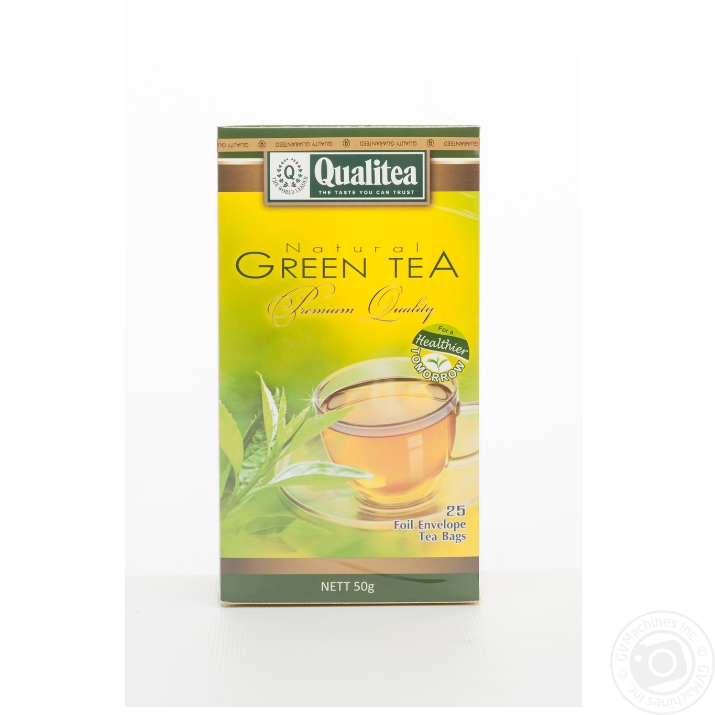 Купить Чай Кволити зеленый 2г х 25шт