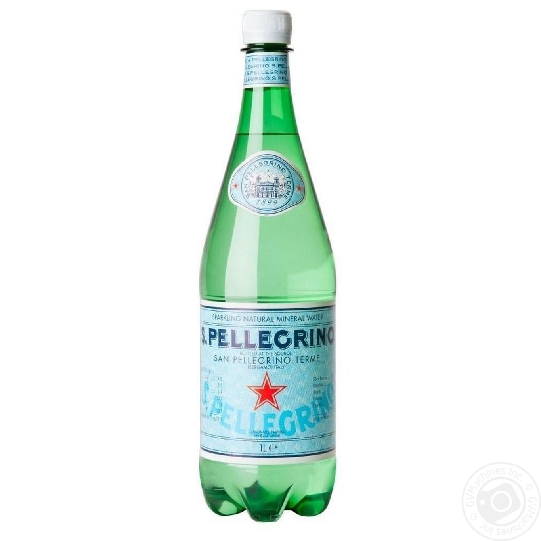 Купить Минеральная вода S.Pellegrino газированная 1л