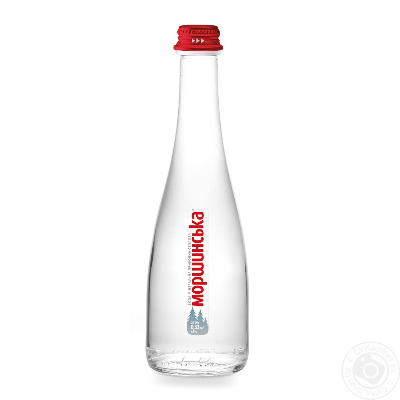 Купить Мінеральна вода, Вода Моршинська преміум негазована скло 0, 33л