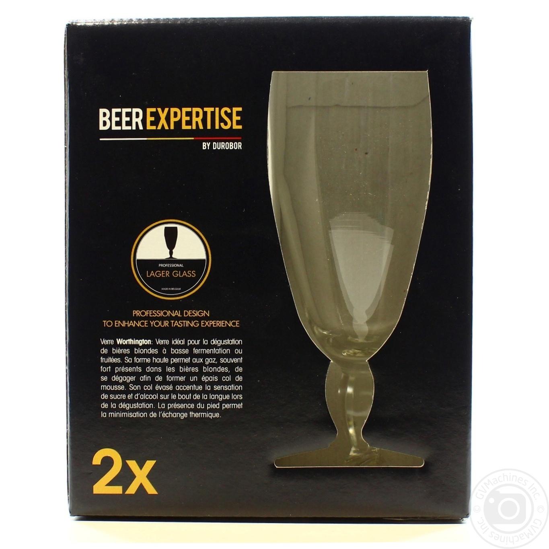 Купить Набор бокалов Worthington для пива 320мл 2шт