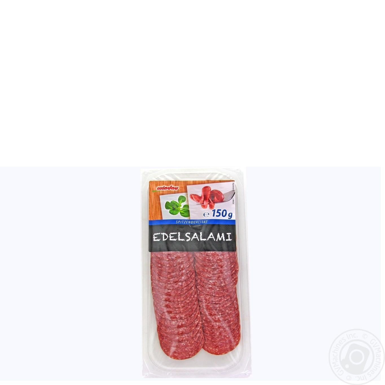 Купить Ковбаса Windau салямі копчена нарізка 150г