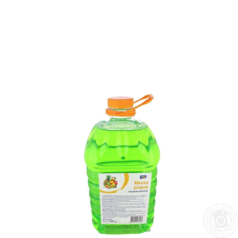 Купить Мыло жидкое Aro Тропические фрукты 4.5кг