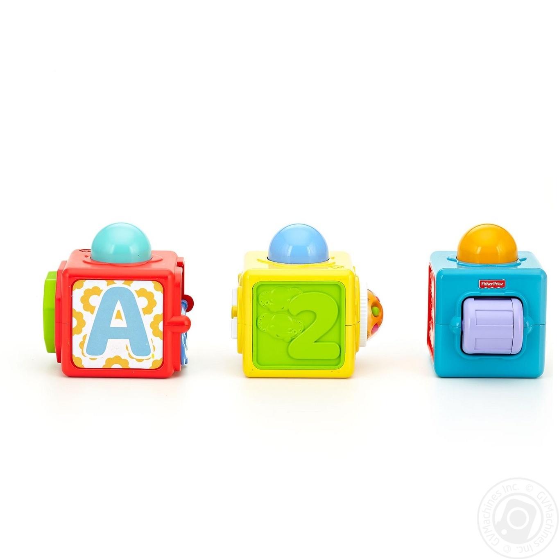 Купить Кубики яскраві Fisher-Price
