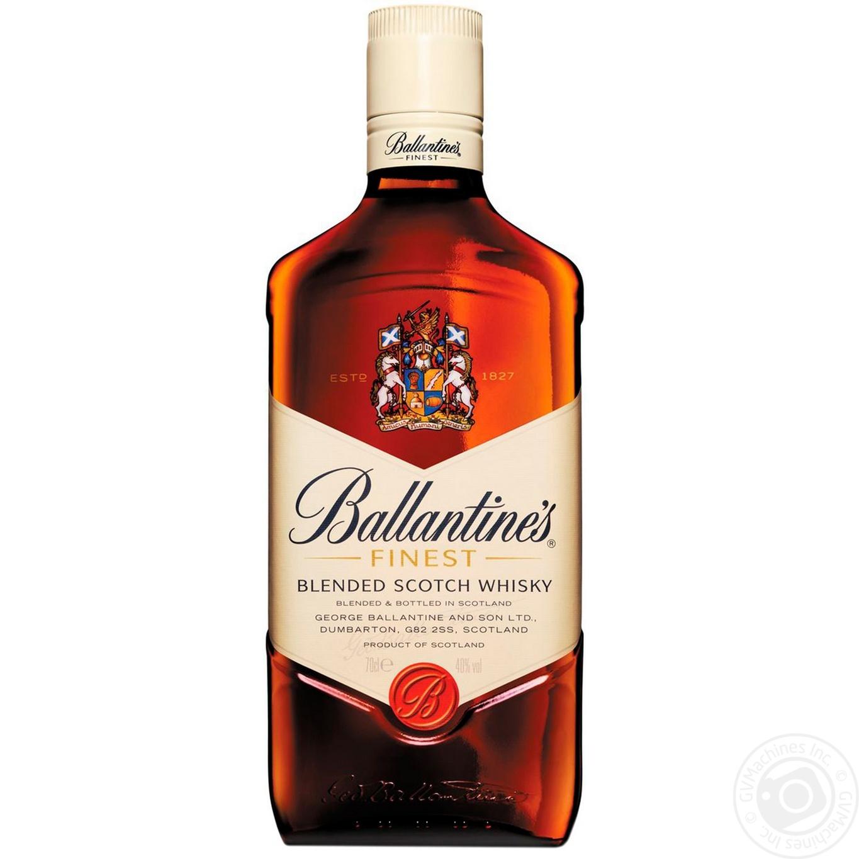 Купить Виски Ballantine's Finest 40% 0, 7л