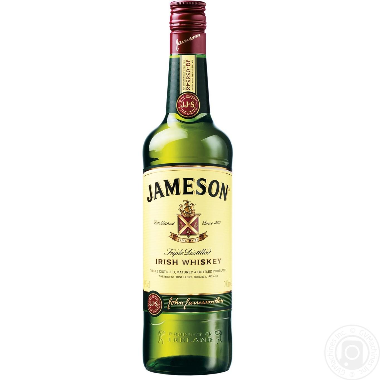 Купить Виски Jameson 40% 0, 7л