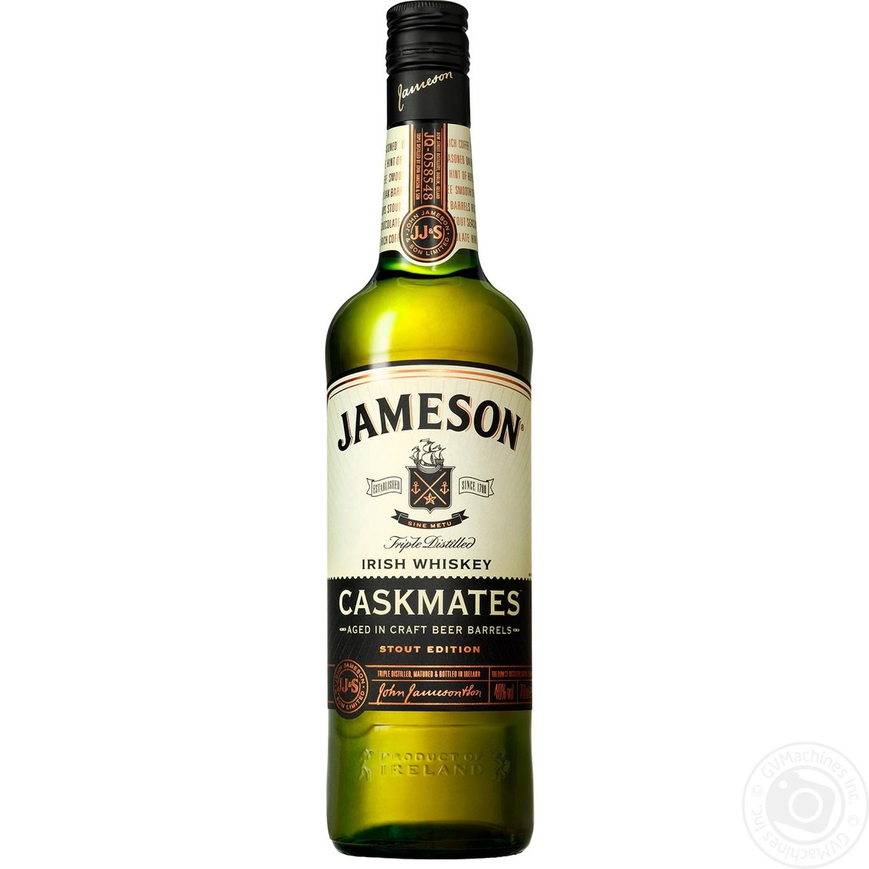 Купить Виски Jameson Caskmates 40% 0, 7л