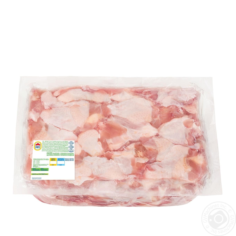 Купить Крыло плечевая часть Наша Ряба цыпленка-бройлера охлажденное (от 3, 6кг вакуумная упаковка)