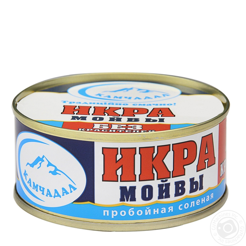 Купить Морепродукти, Ікра мойви Камчадал 100г ж/б