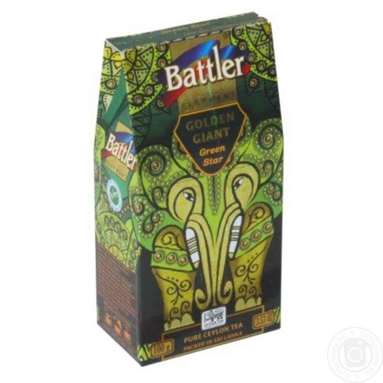 Купить Чай Battler зеленый 100г