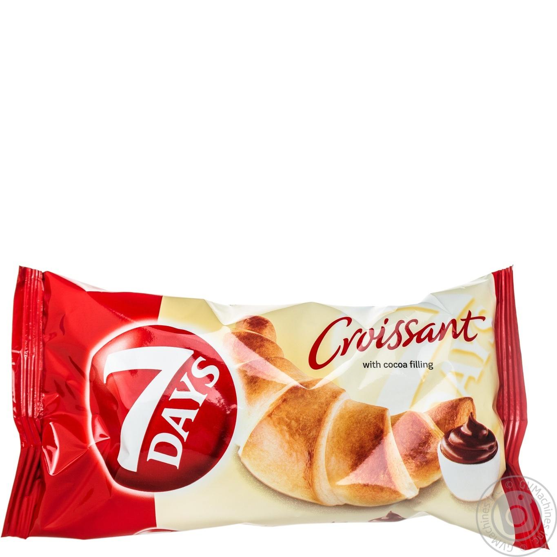 Купить Круассан 7 days с кремом какао 65г