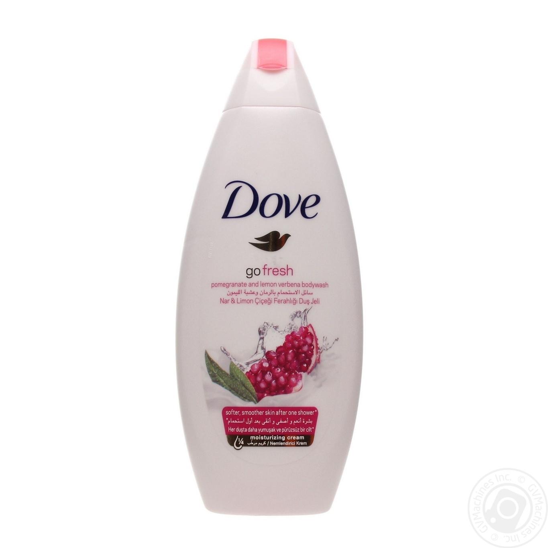 Купить Dove Крем-гель для душа Гранат и лимонная вербена 250мл