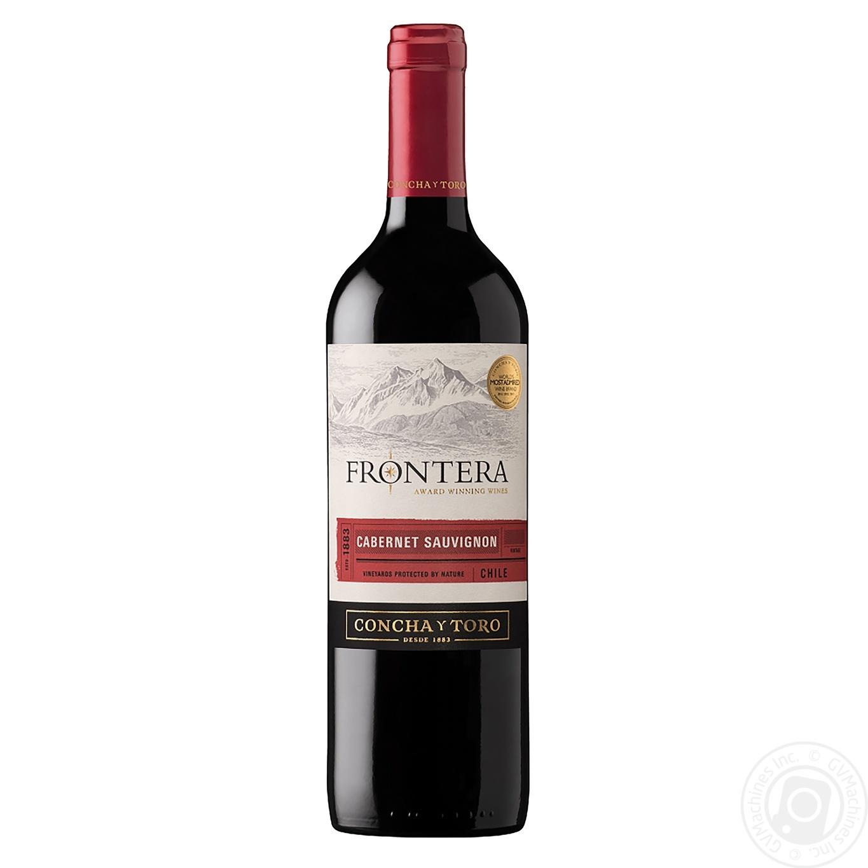 Купить Вино Frontera Каберне Совіньон червоне напівсухе 13% 0, 75л