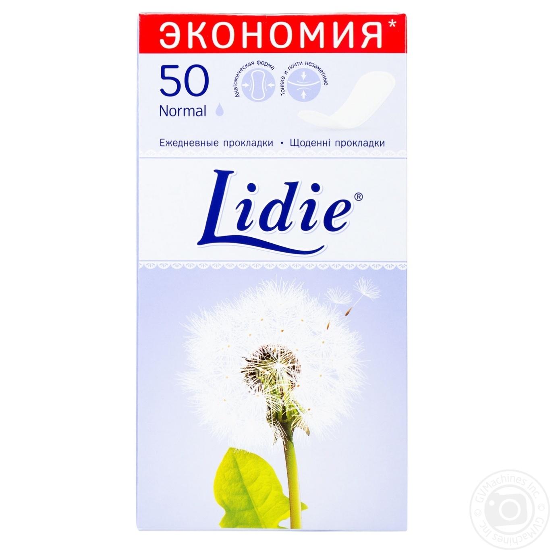 Купить Прокладки ежедневные Lidie Normal 50шт