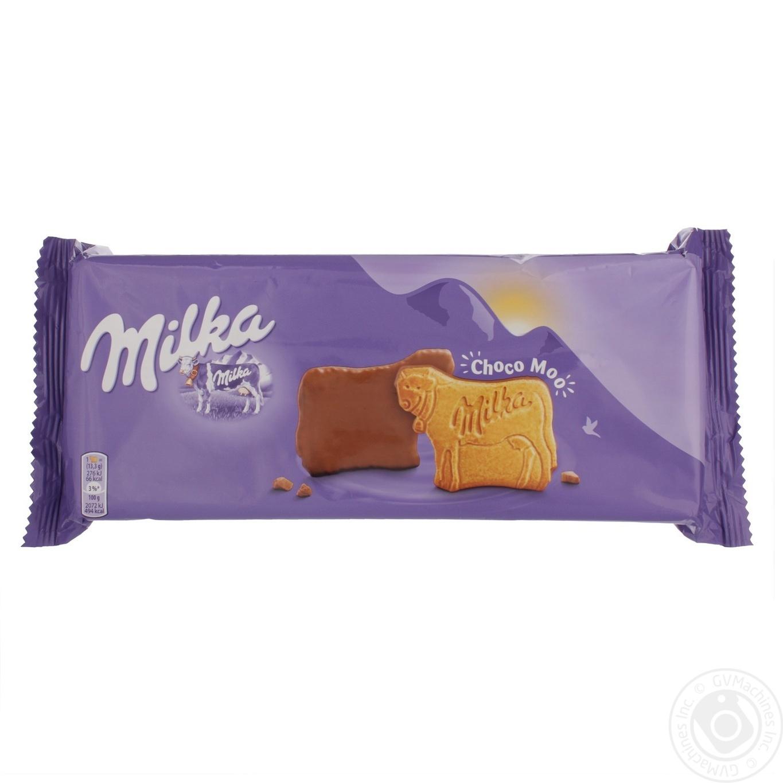 Печиво Milka в шоколадній глазурі 200г