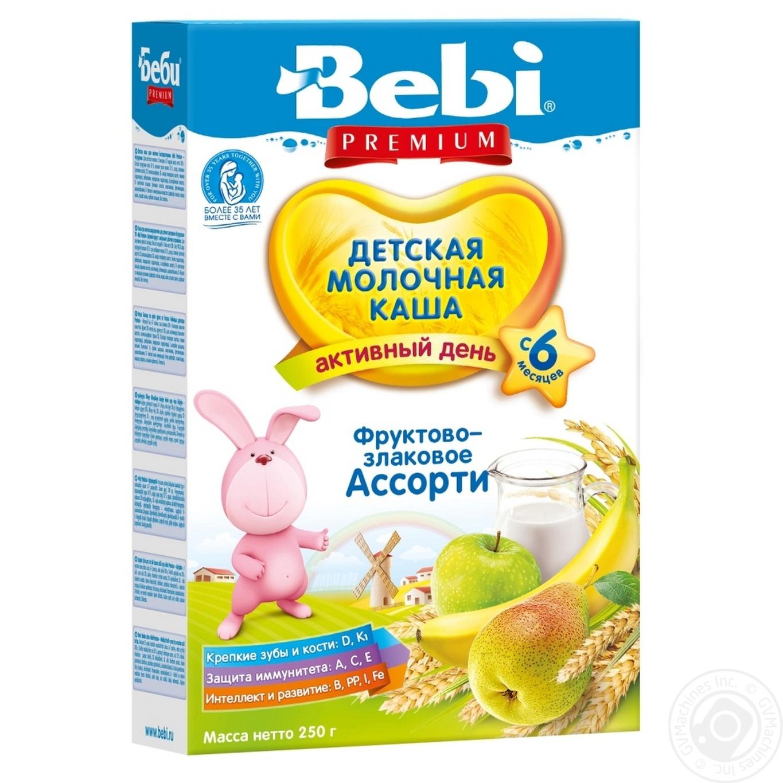 Купить Каша Bebi Premium кукурудзяна низькоалергенна 200г