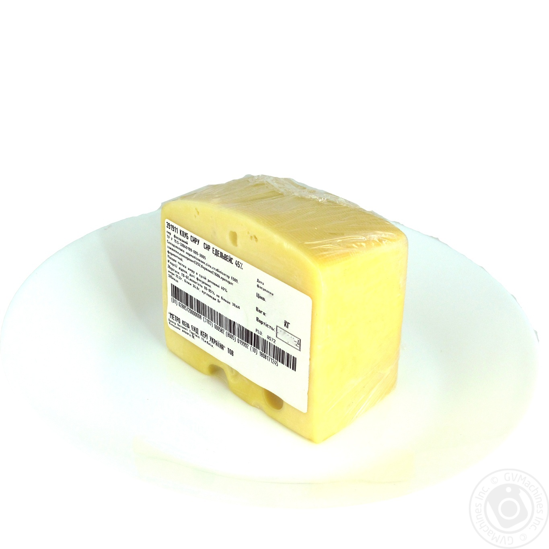 Купить Сир твердий Клуб сиру Едельвейс 45% фасовка
