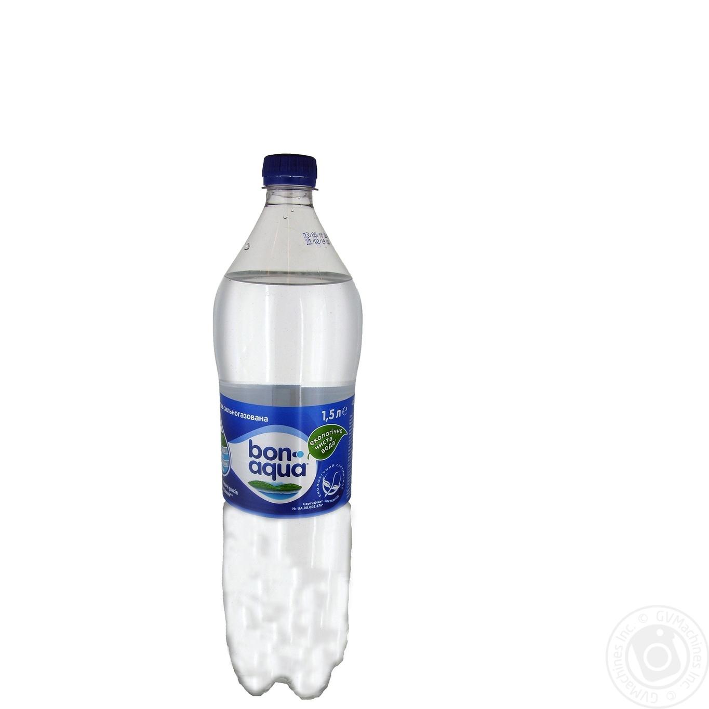 Купить Мінеральна вода, Вода Бонаква сильногазована 1500мл