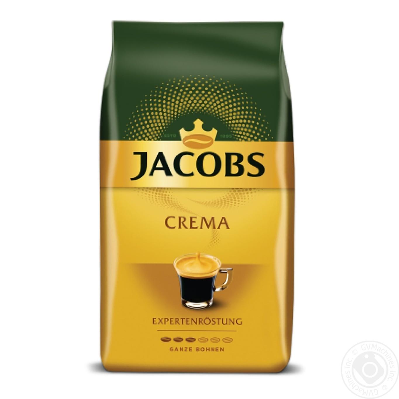 Купить Кофе Jacobs Crema в зернах 1кг