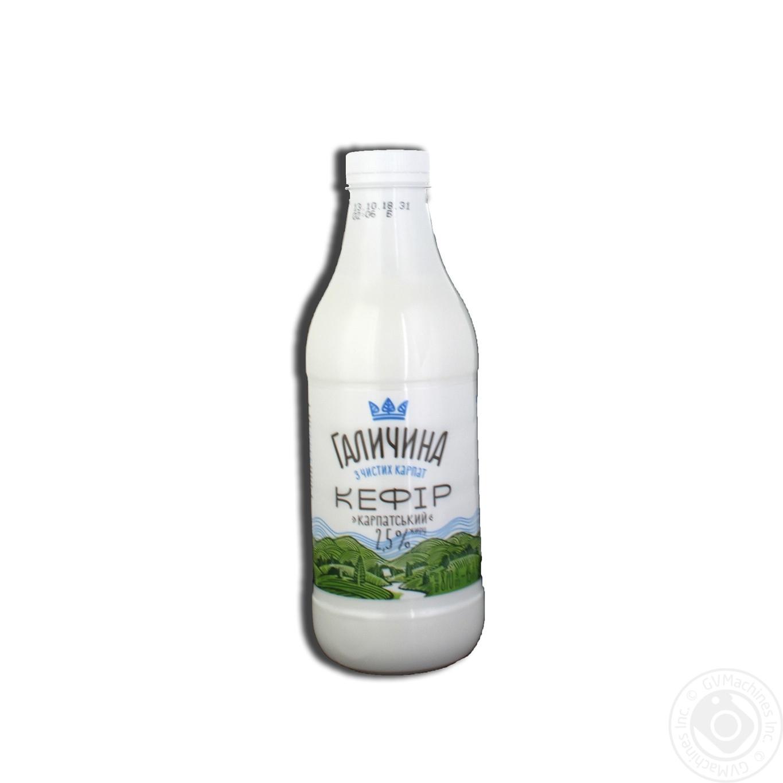 Купить Кефир Галичина Карпатский 2.5% 870г